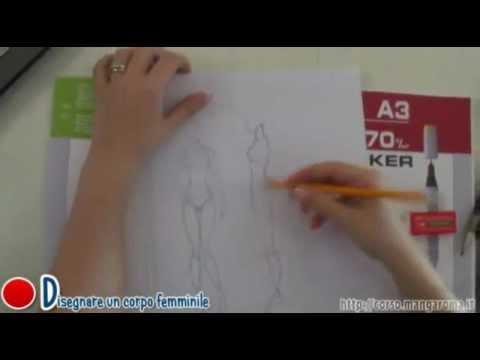 Come disegnare un corpo femminile corso manga youtube for Sito per disegnare