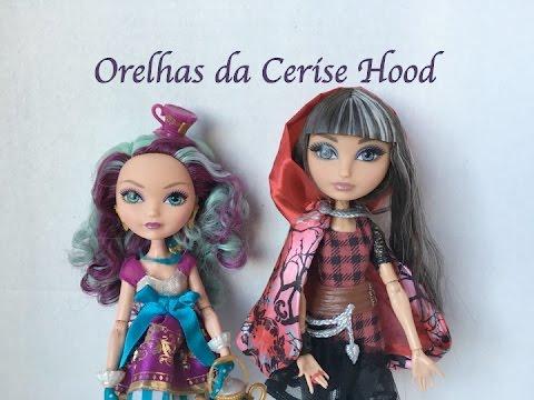 Download Resenha das orelhas Cerise Hood boneca Ever After High
