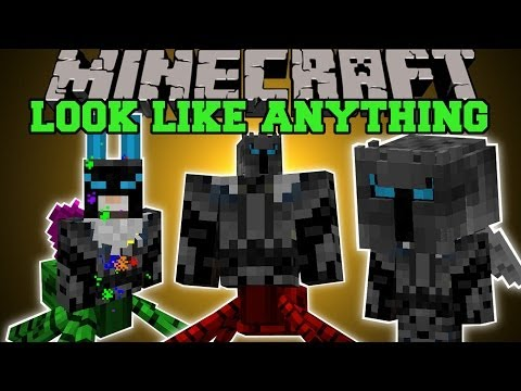 minecraft:-look-like-anything!-(become-mobs,-customize,-animations)-more-player-models-mod-showcase