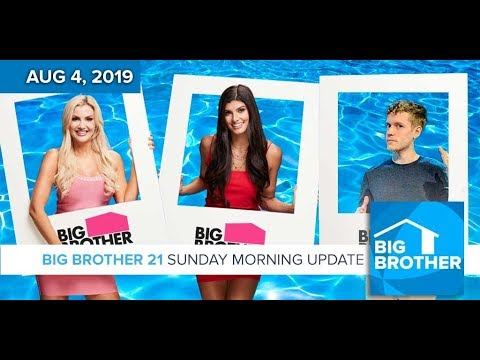Big Brother 21 Sunday Aug 4 Morning Update #BB21