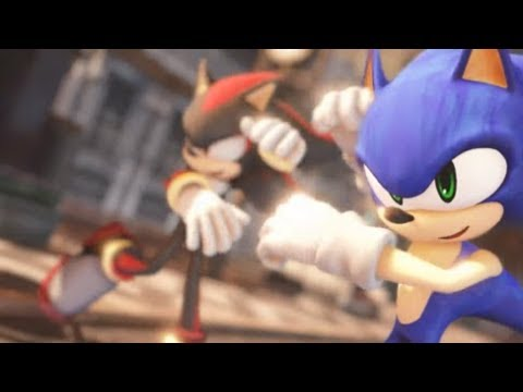 Sonic&Shadow BL Animation ★Deep Blue Town MMD Sonic Dance【1080p】