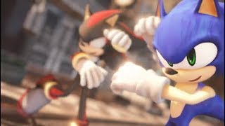 Sonic&Shadow BL Animation ★Deep Blue Town MMD Sonic dance【1080p】