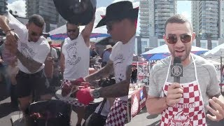 Biz Nasty And The 20 Dollar Chef Take On The Cowboys BBQ Cook-Off with Budweiser (Part 2 of 3)