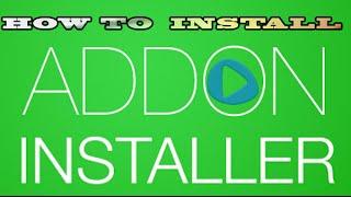 How to Install Addon-Installer KODI(XBMC)