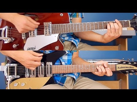 The Beatles - Please Mister Postman - Guitar Cover - Rickenbacker 325C58