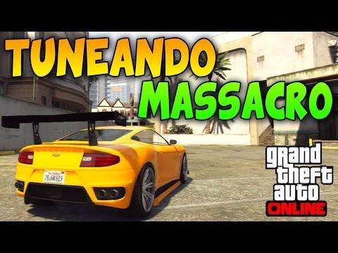Tuneando El... ¡¡ MASSACRO !! - GTA 5 ONLINE 1.13 DLC HIGH LIFE GTA V ONLINE 1.13