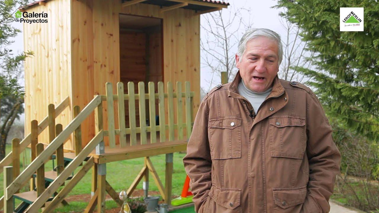 Bricomania la caseta infantil de madera de jes s youtube - Caseta madera infantil ...