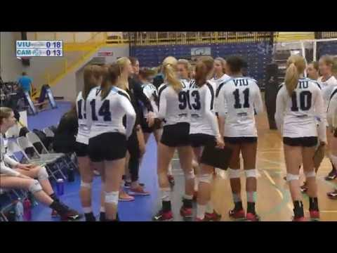 VIU Mariners vs. Camosun Chargers - PacWest Women's Volleyball - Oct. 21, 2016