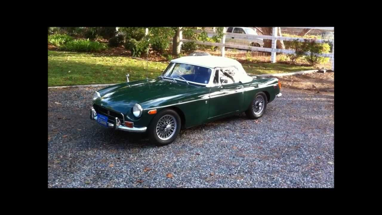 1970 mgb roadster mk ii blue plate ca car last owner 28 yrs wire wheels for sale youtube. Black Bedroom Furniture Sets. Home Design Ideas