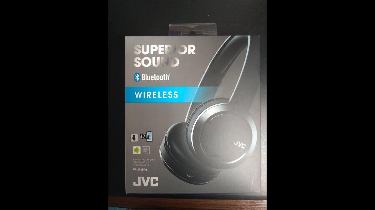 Test du casque bluetooth JVC HA-S50BT  FR  - YouTube f745261744
