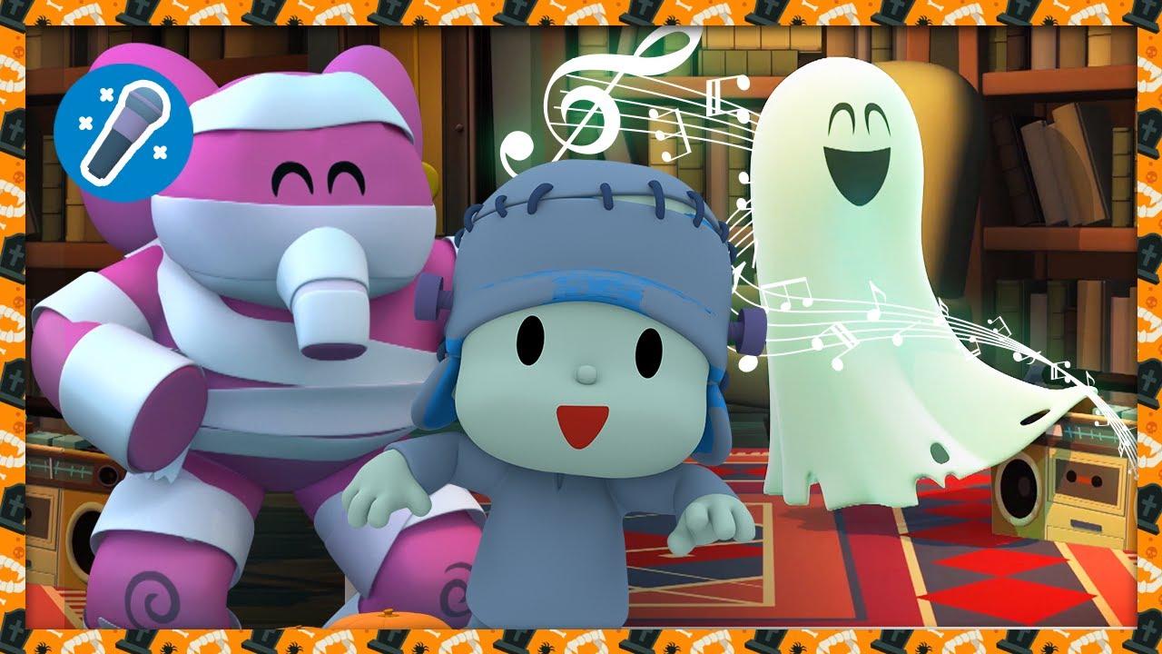 🎤🎃 La Casa del Terror [Halloween] | Karaokes, Caricaturas, Dibujos, Canciones para niños