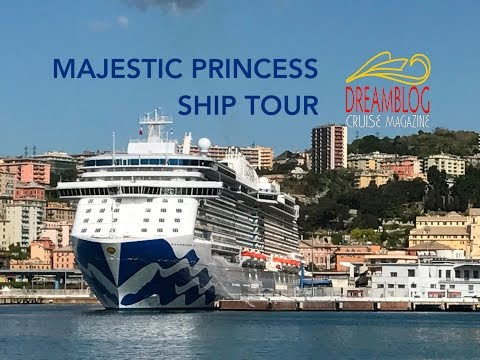 Majestic Princess 盛世公主号 Ship Tour