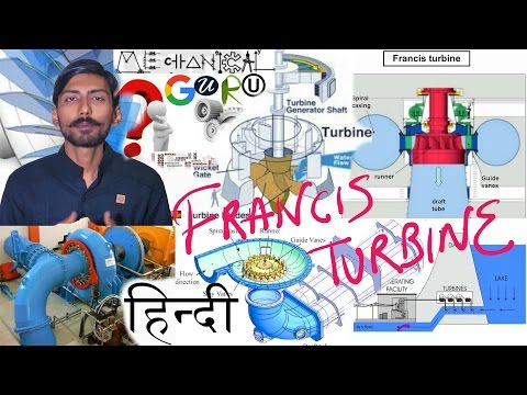 [HINDI]FRANCIS TURBINE & DRAFT TUBE | WORKING WITH COMPONENTS & DETAILS |HYDROPOWER PLANT TURBINE-2