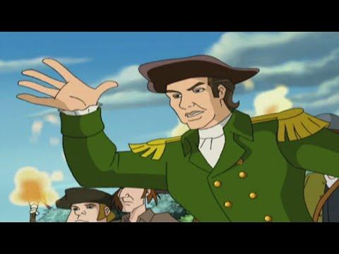 Liberty's Kids HD 107 - Green Mountain Boys | History Cartoons for Children