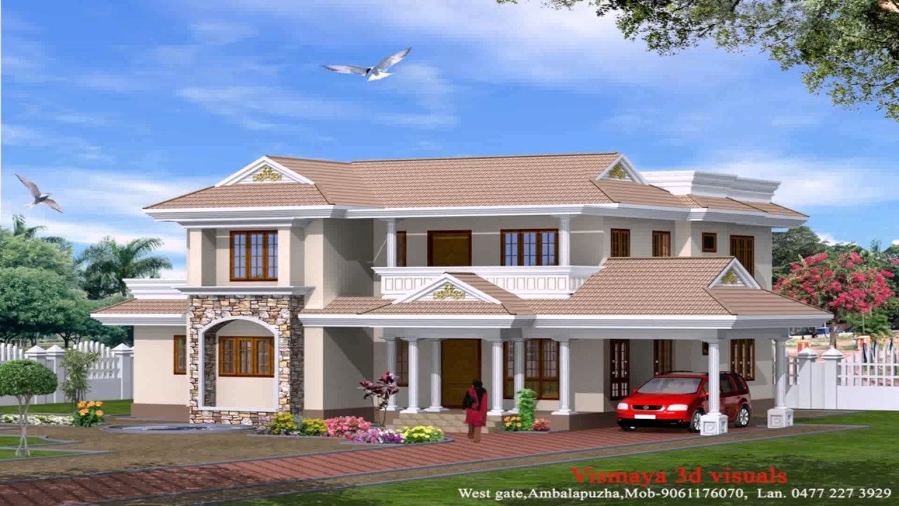 Perfect Modern Kerala Style House Plans With Photos   YouTube
