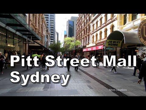 Pitt Street Mall - Sydney Australia - Walking Tour