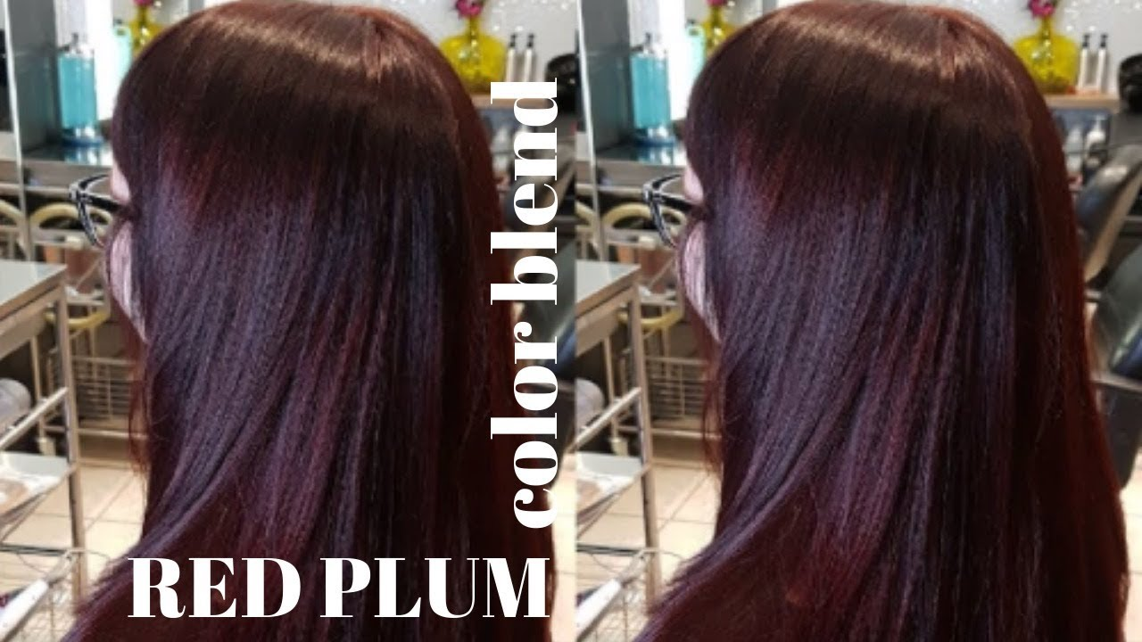 Red Plum Color Blend Youtube