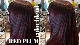 RED PLUM color blend