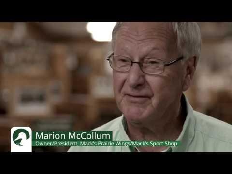 Marion McCollum - Mack's Prairie Wings Owner