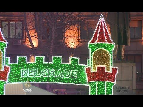 Beograd: Navodi o spornoj nabavci novogodišnje rasvjete