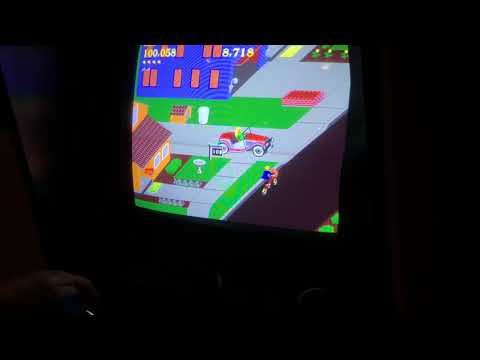 Paperboy arcade 180241 Easy Street world record.