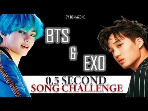 [BTS Vs EXO] GUESS 0,5 SEC SONG CHALLENGE -  WHICH FANDOM ARE YOU?