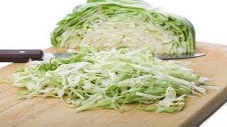 Как приготовить салат из капусты, молодой.