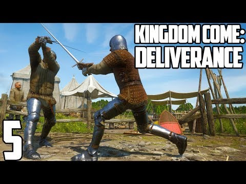 NASTY MOUTH CHEESE | Kingdom Come: Deliverance Gameplay Let's Play #5