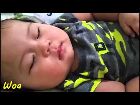 Baby Smile While Sleeping Cute Unbelivable Video