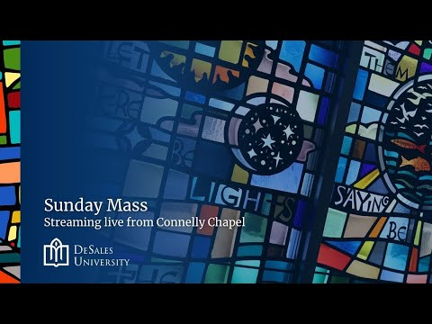 Live: Sunday Mass, October 18, 2020 - Live from Connelly Chapel at DeSales University