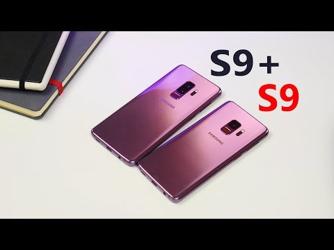 Samsung Galaxy S9+ unboxing, quick comparison with S9