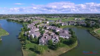 The Lakes of Boulder Ridge(aerial tour) | Plote Homes