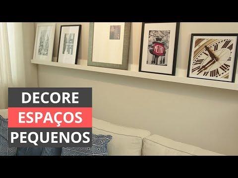 Como decorar espaços pequenos com classe