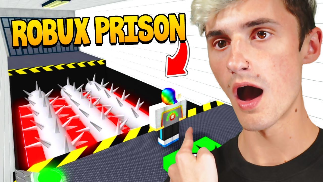 I got caught STEALING ROBUX! 💸I was put in prison.. (Roblox)