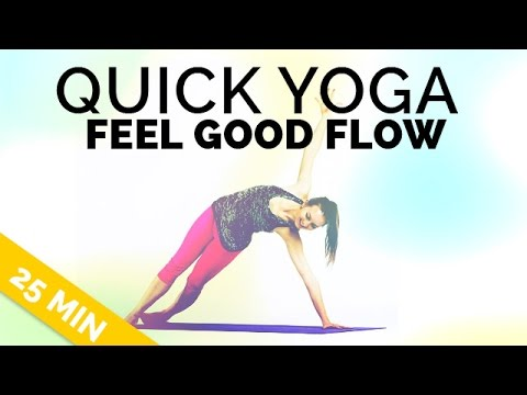 quick yoga sequence 25 min  sneak some yoga into your