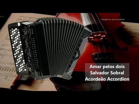 Salvador Sobral - Amar pelos dois - COM GUIA Karaoke Eurovision 2017 Acordeon Letra