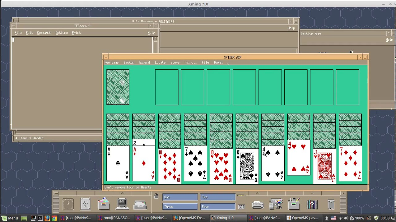 OpenVMS Alpha Gaming on DW-MOTIF