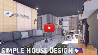 Simple House Design 2020 | Living Dining & Kitchen  Modern