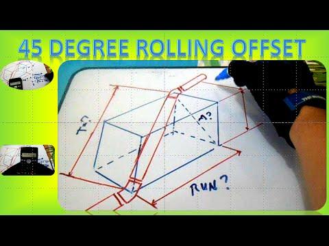 conduit bending guide box offset