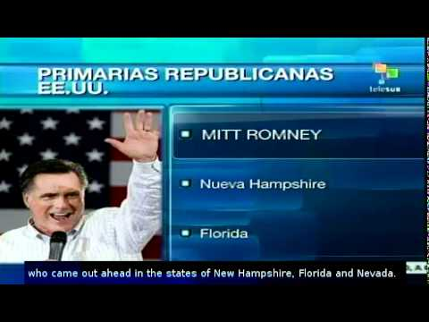 U.S.: Republican primaries