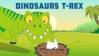 Dinosaurs - T-Rex - Dinosaurs Facts - Fun Educational Video For Children