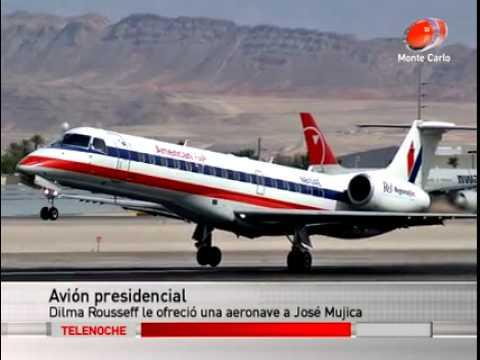 Uruguay Concretaría Un Viejo Sueño Un Avión Presidencial