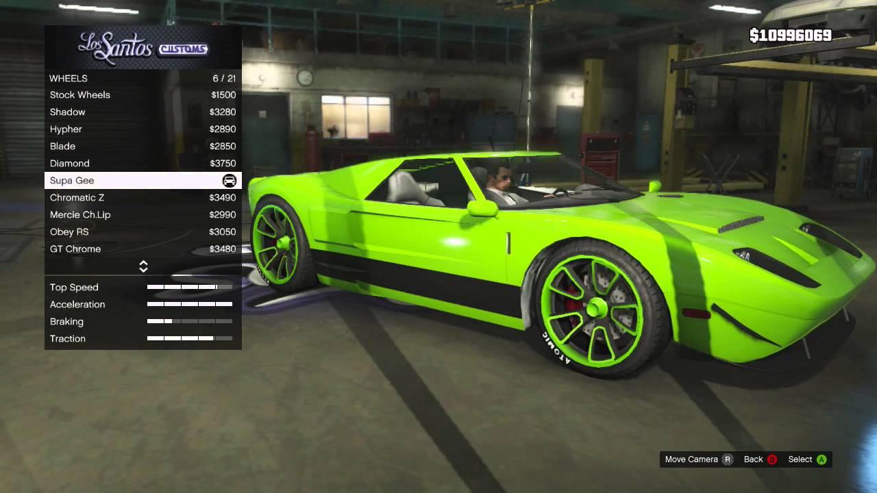 gtav online how to sell car