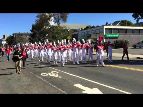 Boston University Marching Band 2015 Allston Brighton Parade. BUMB