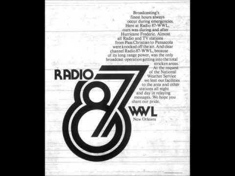 WWL Radio 87 New Orleans - 04/15/1977