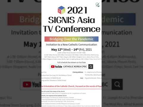 SIGNIS Asia TV Conference || Cath Gen