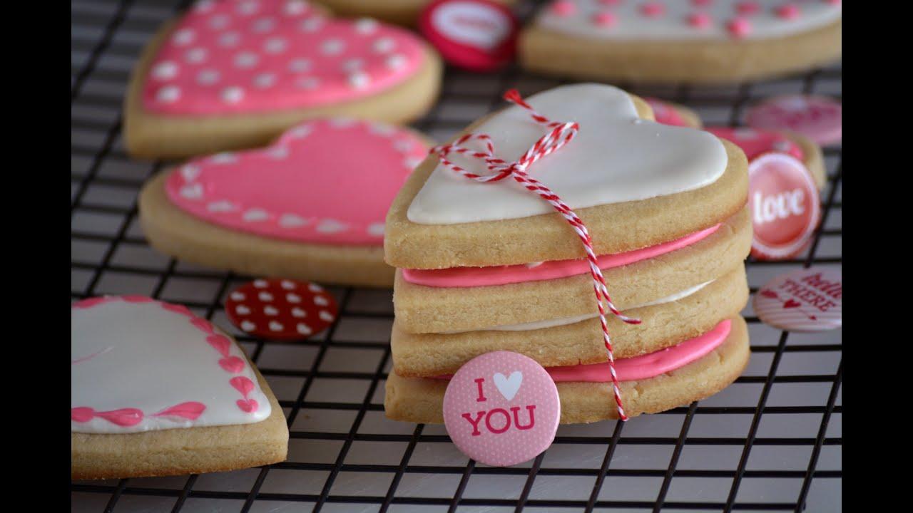 Tutorial para decorar galletas de san valent n c mo decorar galletas sys youtube - Decorar para san valentin ...