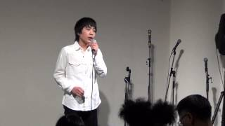 Repeat youtube video ライブ映像☆ 「愛し君へ」 橋本峻 2015・4・1