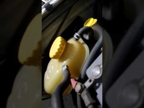 Стук впускного коллектора Opel Zafira A 1,8 часть1