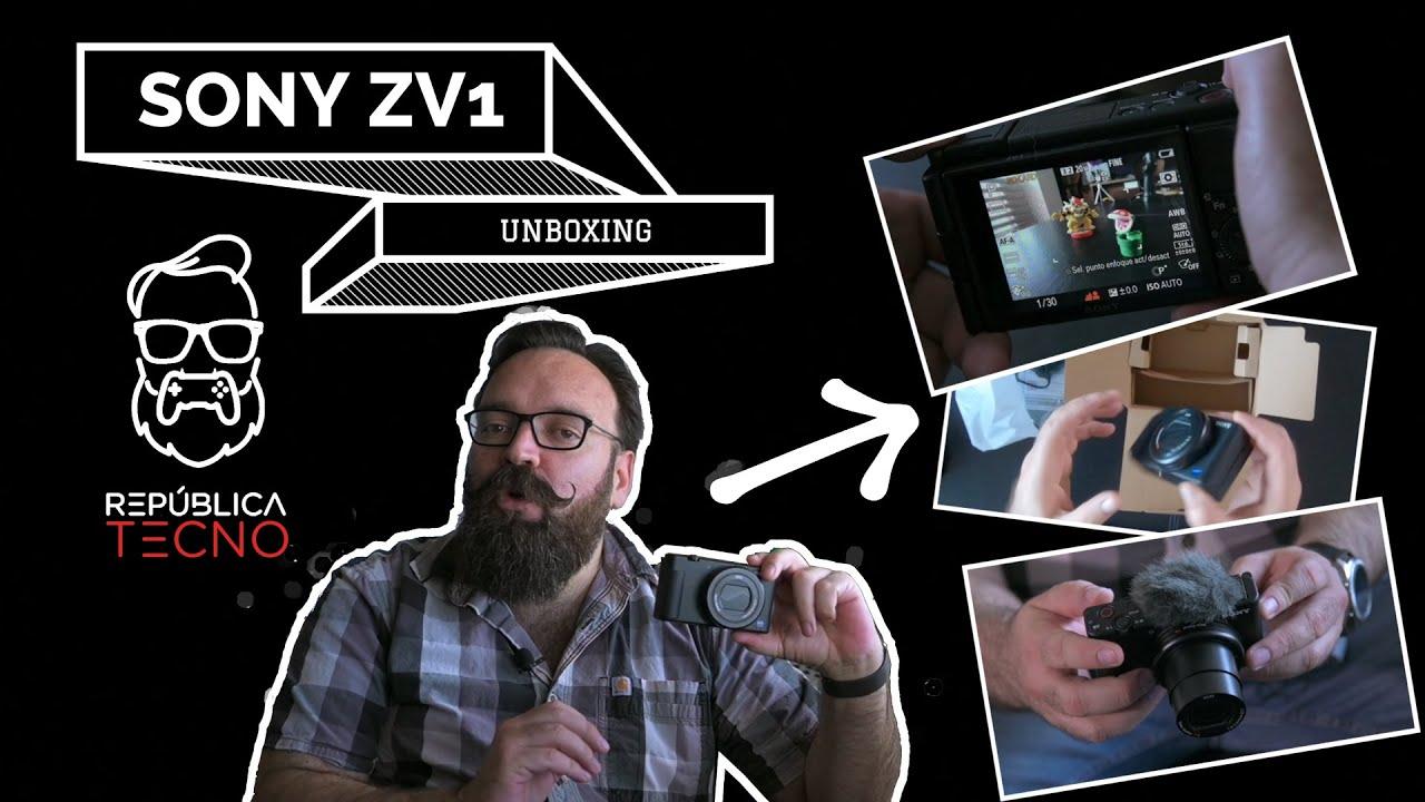 Unboxing: un vistazo a la cámara digital ZV1 de Sony